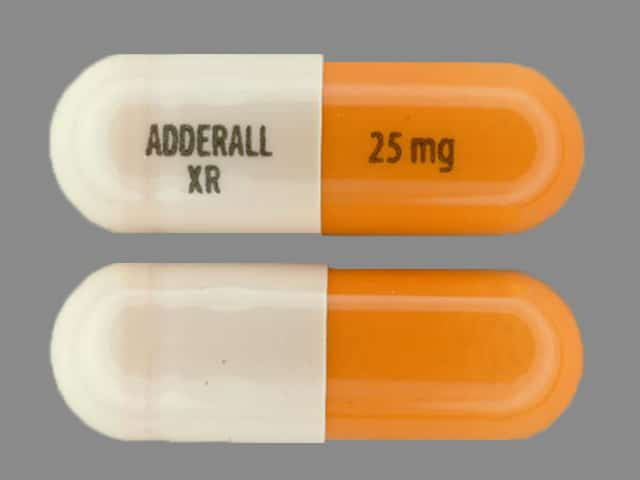 Adderall XR 25mg 20mg 30mg