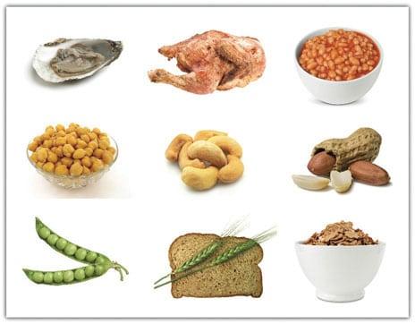 Zink Lebensmittel