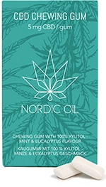 nordic oil cbd kaugummi